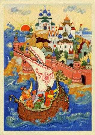 Названия сказок Пушкина
